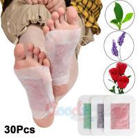 30PCS Premium Ginger Detox Foot Pads Patch Organic Herbal Cleansing Detox Pad