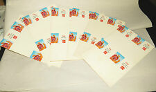 "6 Coke Adds Life to Basketball Uncut Card Stock,Coca-Cola Soda Pop 7.5""x 5"""