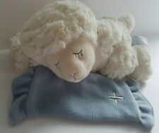 Nat & Jules Lamb Christening Musical Now I Lay Me Down To Sleep  Blanket Lovey