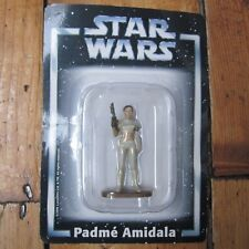 Padme Amidala Star Wars Deagostini Die Cast Metal Figure On Card Free UK P+P