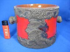 RARE 70´s Roth Céramique Fat Lava Flowerpot Planter cache-pot 4206/2