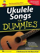 Ukulele Songs For Dummies Learn to Play Pop Rock Tunes UKE TAB Music Book