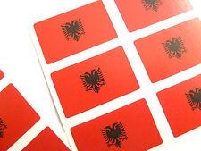MINI ADESIVO Pack, autoadesiva BANDIERA ALBANIA etichette, FR57
