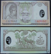 NEPAL Polymer Plastic Banknote 10 RUPEES UNC