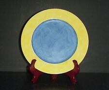 J. Seignolles Dinner Plate Nuage Limoges France Chamart Blue Yellow