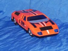 """Vintage 1970 Mercedes Benz C111 Toy Car 8 1/4"""" Long Made in Hong Kong"""