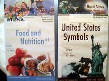 100% EDUCATIONAL VIDEOS Communities, Food, Rocks, Water, Maps, Wants... (12 VHS)