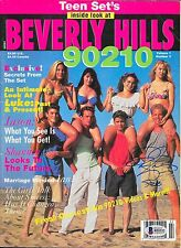 IAN ZIERING Signed TEEN SET'S Magazine BEVERLY HILLS 90210 Steve Sanders BAS COA