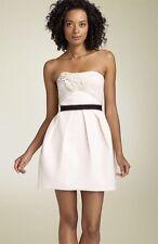 NWT BCBG MAXAZRIA RUNWAY STRAPLESS ROSETTE DRESS SIZE 6 (run small fits 2) $398