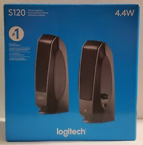 NEW!! Logitech S120 Wired Desktop PC Speakers