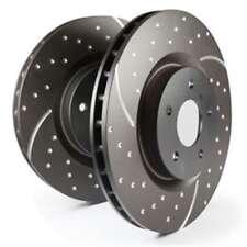 EBC Turbo Groove Disc Bremsscheibe Black VA auch für Honda Accord VIII CU, 2.0i,