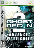 XBOX 360 Tom Clancy's Ghost Recon 2 Advanced Warfighter Video Game RE-SEALED