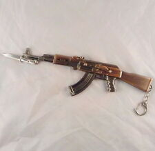 AK-47 BAYONET KNIFE KALASHNIKOV ASSAULT RIFLE Russia Military BIG Keychain Model