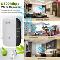US 300Mbps WiFi Repeater US Plug Wireless Router Range Extender Signal Booster