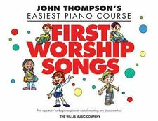 FIRST WORSHIP SOLOS JOHN THOMPSON EASIEST PIANO COURSE - PIANO SONGBOOK 416892