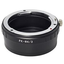 PK-M4/3 Pentax K-mount lens to Micro Four Thirds m4/3 camera adapter UK Seller