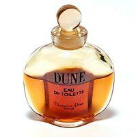 Vintage Dune Christian Dior Perfume Eau De Toilette Mini Purse Parfum 5ml 1990's