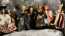 More details for peggy nisbets  rare complete set henry the 8th and all his wives