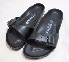 Women's BIRKENSTOCK Germany EU 40 Madrid EVA Black Buckle Sandals