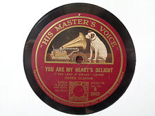 DEREK OLDHAM - You Are My Heart's Delight / Patiently Smiling 78 rpm disc (A++)