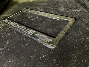 San Jose Momentum Chevrolet Plastic License Plate Frame Dealer Dealership Chevy