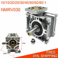 Worm Gearbox Speed Reducer for NEMA23 Stepper Motor 10 15 20 25 30 40 50 60:1