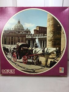 Vintage Dorset Round Jigsaw Puzzle 4 Midday at St Peters Rome 4690 500pcs+