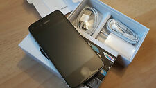 Apple iPhone 4s 16GB schwarz Modell A1387 in orig. Box; unlocked und iCloudfrei