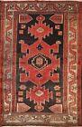 Vintage Geometric Oriental Traditional Area Rug Wool Handmade Tribal Carpet 4x6
