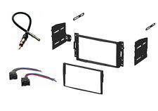 Double DIN Car Stereo Dash Kit Harness Antenna Chevy Aveo / Pontiac G3 Install