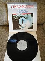 "007 James Bond Musica de John Barry Soundtrack LP Vinyl 12 "" 1987 VG/VG"