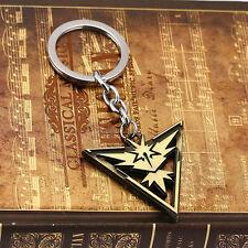 Pokemon Go Team Instinct Elegant Alloy Key Chain Key Ring Gift New
