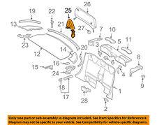 MERCEDES OEM SLK55 AMG Top Well-Rear Body & Floor-Roll Bar Right 17186002329051