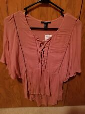 FOREVER 21 NWT BLUSH PINK TOP