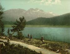 St. Moritz PZ vintage photochromie, photochromie, vintage photochrome  23x28