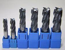 HRC45 10mm 12mm 14mm 16mm 18mm 20mm 4 flute carbide end mills milling for steel