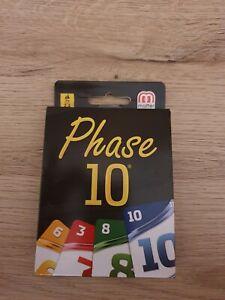 Phase 10 Kartenspiel - von Mattel - Neu!