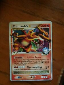Charizard G LV.X - MP Ultra Rare Pokemon Card - DP45 Promo Played Condition