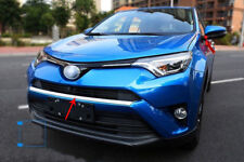 fit 2016-2018 Toyota RAV4 Chrome Front Grille Bumper Upper Protection Cover Trim