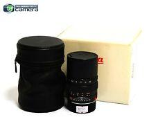 Leica Elmarit-M 90mm F/2.8 E46 Lens Black *MINT- in Box*