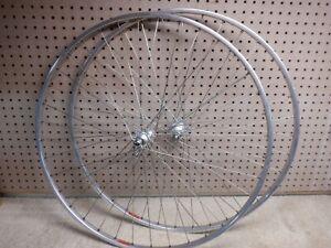 "Vintage 70's-80's NOS ""Wheel Set"" - 36 Hole - Campagnolo Hubs, Fiamme Rims, DT"