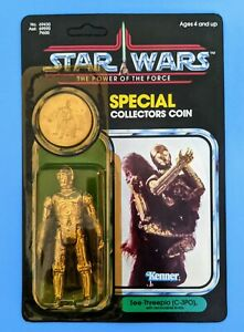 STAR WARS Vintage 1984 See-Threepio (C-3PO)  POTF Final 17 ***(UNPUNCHED)***