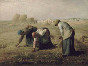 Jean Francois Millet The Gleaners Giclee Art Paper Print Poster Reproduction