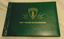 """My Tour in Europe"" New Collectible Vacation Scrap Book"