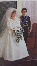 Princess Diana and Prince Charles Royal Wedding Dolls by Danbury Mint 1986