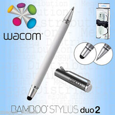 Wacom Bamboo Duo 2-in-1 Universal Touchscreen Digital Stylus + Ballpen