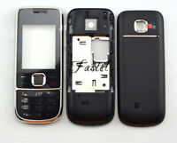 New Full Fascia housing cover case Keypad Keyboard For Nokia 2700 2700C Black