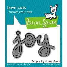 Lawn Fawn SCRIPTY JOY LF774 Lawn Cuts Custom Craft Die