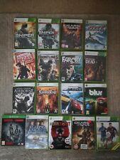 Joblot xbox 360 games quantity of 17