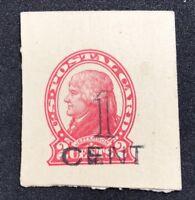 us stamps Scott UX33 Surcharge Lot J